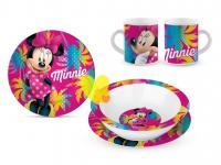 Disney Porcelánová SÚPRAVA Minnie Mouse 3ks