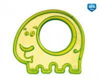 Canpol Babies elastická hryzačka sloník zelený